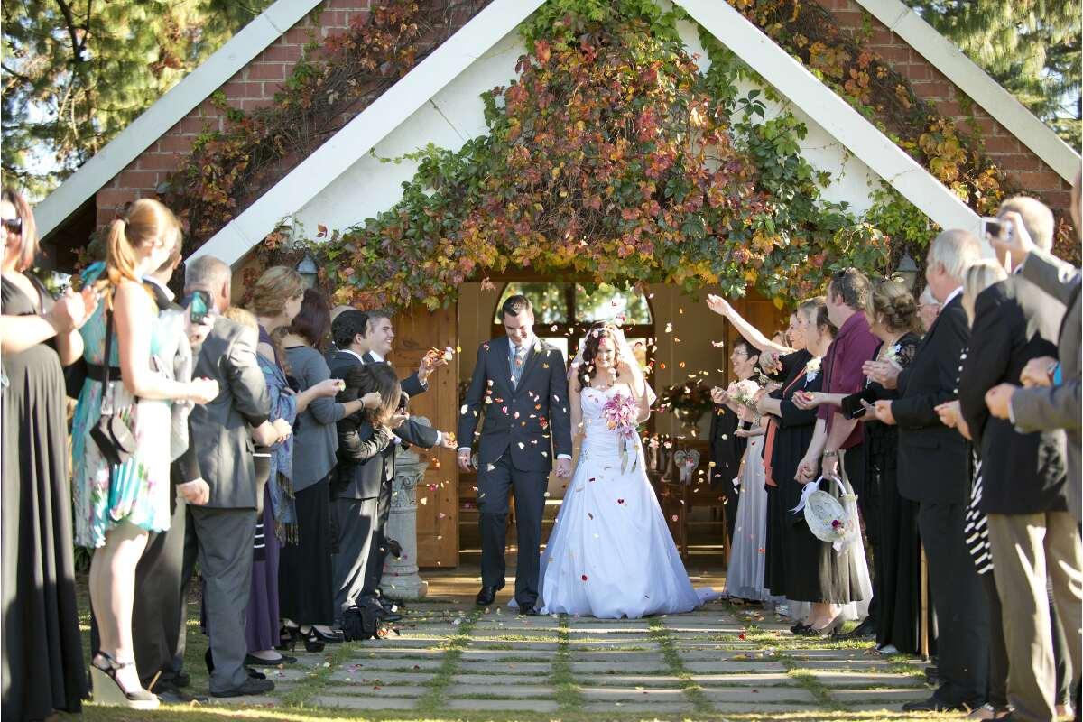 Wolcott orchards wedding
